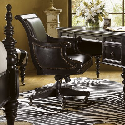 Kingstown High-Back Admiralty Leather Executive Chair by Tommy Bahama Home