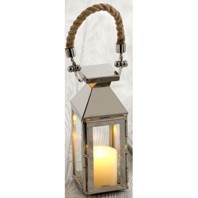 Shiraleah Illuminaria Portico Stainless Steel/Glass Lantern