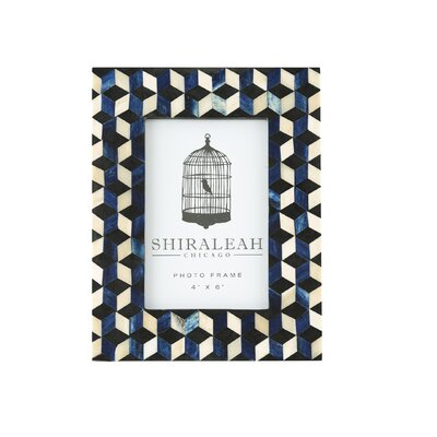 Loft Cube Inlay Picture Frame by Shiraleah