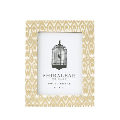 Small Loft Ikat Picture Frame by Shiraleah
