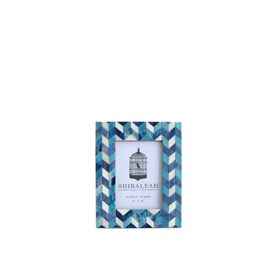 Chevron Picture Frame by Shiraleah