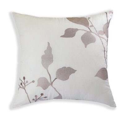 Nygard Home Camille Embroidered Cotton Throw Pillow
