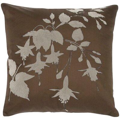 Taffeta Flock Throw Pillow by India's Heritage