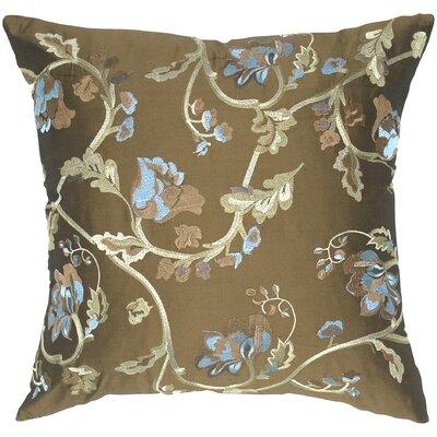 Rose Impression Taffeta Throw Pillow by India's Heritage