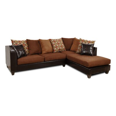Ashley Right Hand Facing Sectional by Chelsea Home