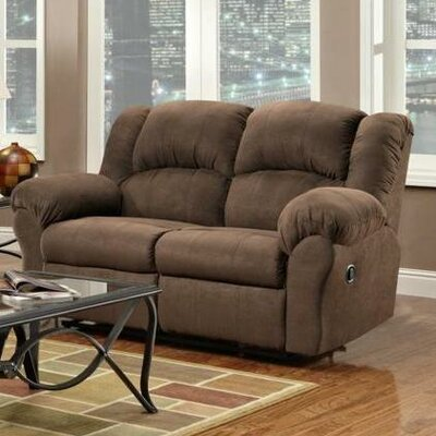 Chelsea Home WCF1668 Ambrose Reclining Loveseat