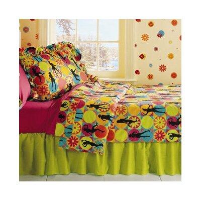 Flower Power 3 Piece Comforter Set by Room Magic