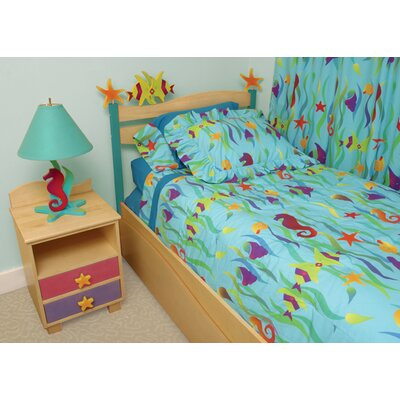 Tropical Seas 3 Piece Duvet Set by Room Magic