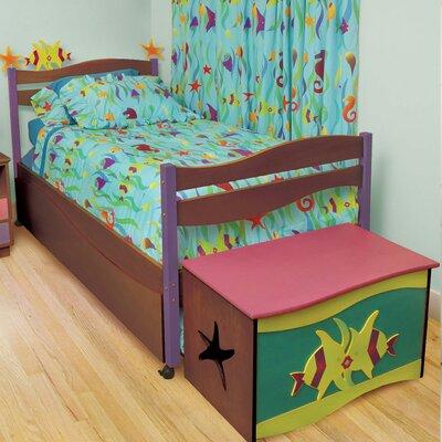 Room Magic Tropical Sea Platform 5 Piece Bedroom Set