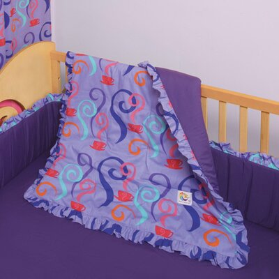 Little Girl Tea Set 4 Piece Crib Bedding Set by Room Magic