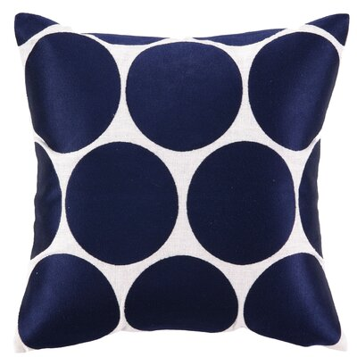Sis Boom by Jennifer Paganelli Erin Embroidered Linen Throw Pillow