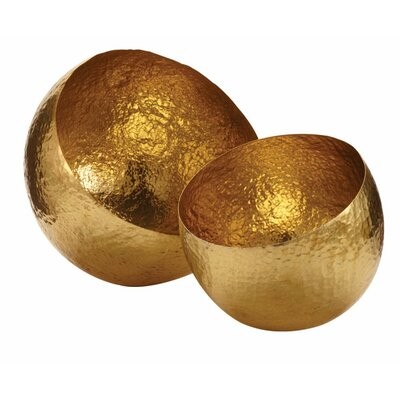 Lazy Susan USA Hammered Brass Bowl
