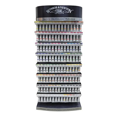 Winsor & Newton Artists' Oil Color Paint Display