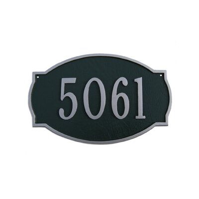 Small Metal Plaques Small Address Plaque