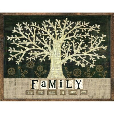 Magnet Art Print Family First and Most Framed Wall Art by Forest Creations