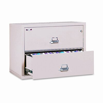 FireKing Fireproof Insulated 2-Drawer Lateral File