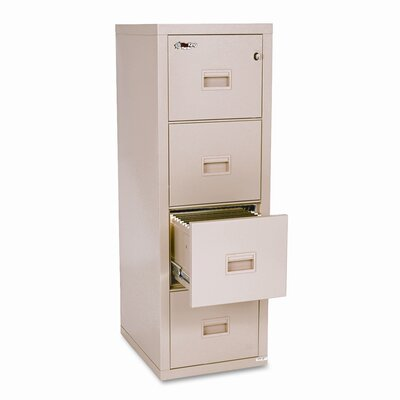 FireKing Fireproof Compact Turtle 4-Drawer File
