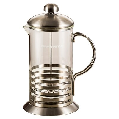 Stainless Steel French Press Coffee Maker by Ovente