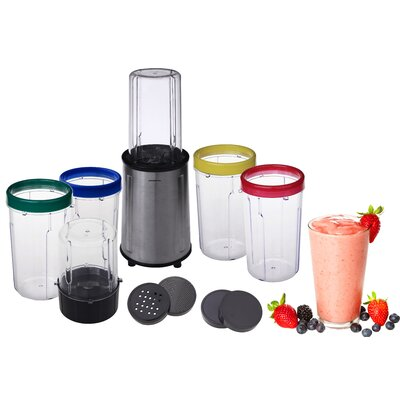 17 Piece All Purpose Stainless Steel Flash Blender by Ovente
