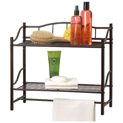 creative bath complete 20 x 18 bathroom shelf reviews wayfair. Black Bedroom Furniture Sets. Home Design Ideas
