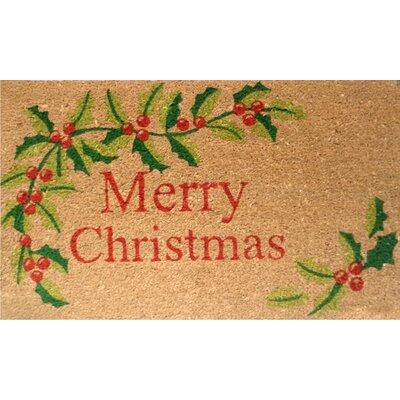Home & More Merry Christmas Doormat