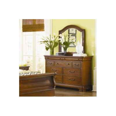 Evolution 9 Drawer Dresser with Mirror by Legacy Classic Furniture