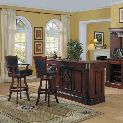Monticello Bar Set with Wine Storage by ECI Furniture
