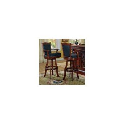 "ECI Furniture Monticello 30"" Swivel Bar Stool with Cushion"