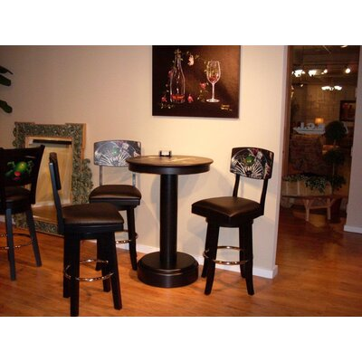 Goddard Series Bar Set with Wine Storage by ECI Furniture