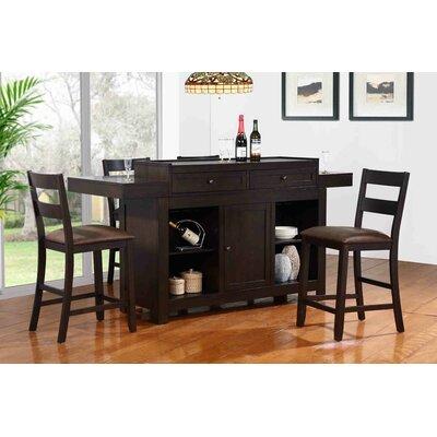 Hibatachi Bar Set with Bar Stools by ECI Furniture