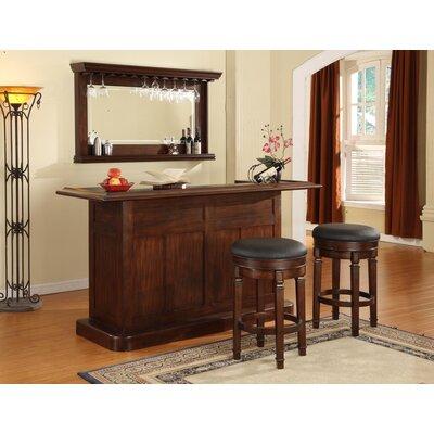 Nova Bar Set with Wine Storage by ECI Furniture
