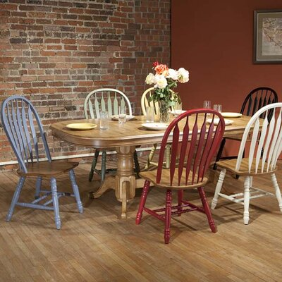 ECI Furniture Rustic Oak Extendable Dining Table