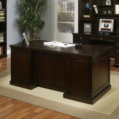 kathy ireland Home by Martin Furniture Fulton Double Pedestal Executive Desk
