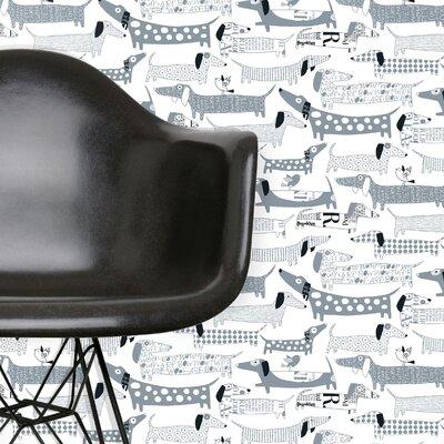 """Loboloup Wiener 15' x 27"""" Dogs Wallpaper"""