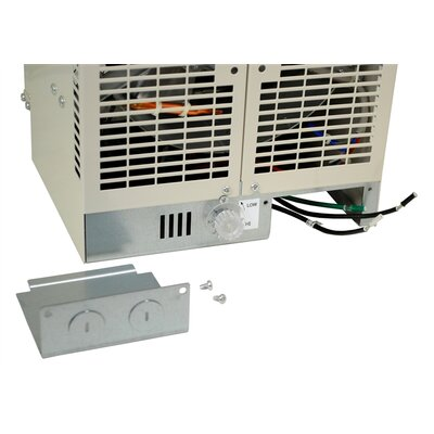NewAir 5,000 Watts Fan Forced Wall/Ceiling Electric Garage Space Heater