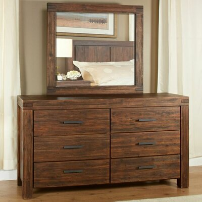 Meadow 6 Drawer Dresser with Mirror by Modus