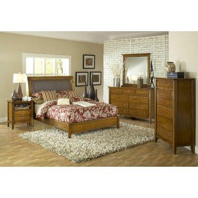 City II Sleigh Customizable Bedroom Set by Modus