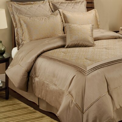 Crystal Orbit Comforter Set by Textrade