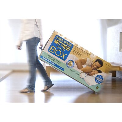 textrade 11 innerspring plush pillow top mattress in a box reviews wayfair. Black Bedroom Furniture Sets. Home Design Ideas