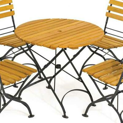 Rebecca Folding Round Table by Haste Garden