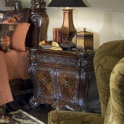 Michael Amini Essex Manor 1 Drawer Nightstand