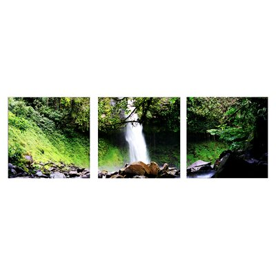 Artistic Bliss Waterfalls Photographic Print