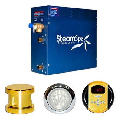 Steam Spa SteamSpa Indulgence 6 KW QuickStart Steam Bath Generator Package