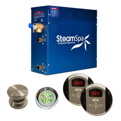 Steam Spa SteamSpa Royal 7.5 KW QuickStart Steam Bath Generator Package