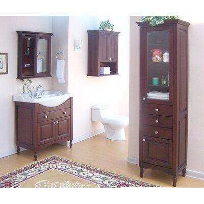 "Windsor 31"" Single Extra Deep Bathroom Vanity Set | Wayfair"