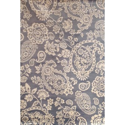 Sonoma Ivory / Light Blue Floral Rug by Abacasa