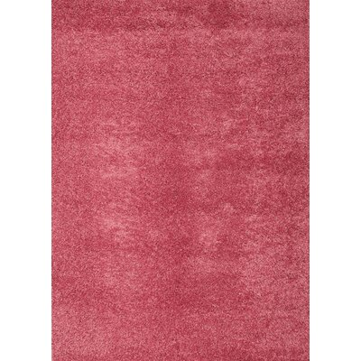 Domino Pink Area Rug by Abacasa