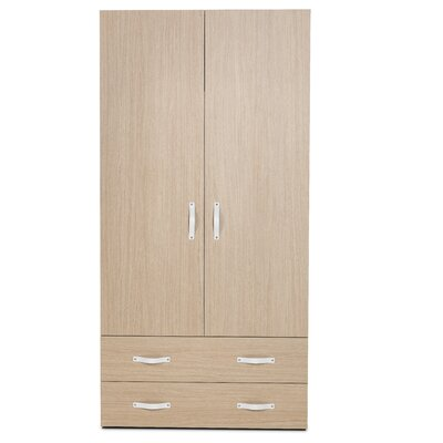 2 Door Armoire with Drawers Product Photo