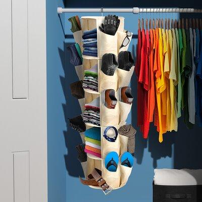 "Carousel 10"" Deep 5 Tier Closet Organizer Product Photo"