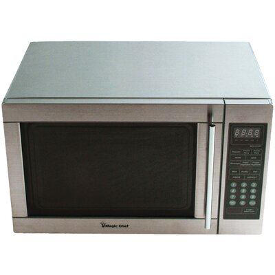 1.3 Cu. Ft. 1100W  Countertop Microwave in Stainless Steel Product Photo